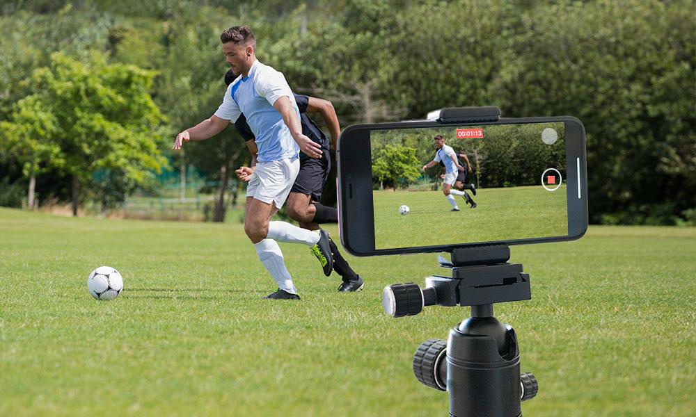 Filmando Jogo de Futebol com Celular